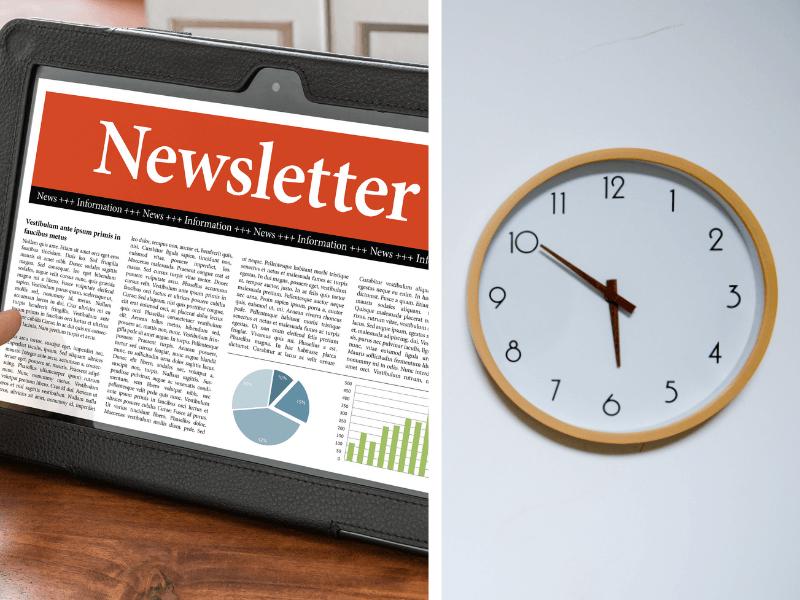Die beste Versandzeit für einen Newsletter – individuell oder fest eingestellt?